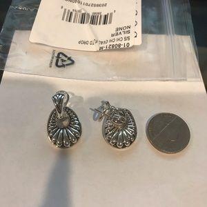 Lagos silver earrings !!!Firm